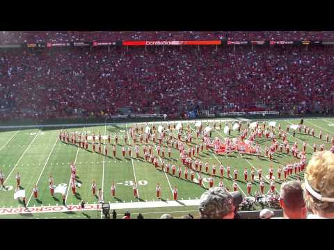 Nebraska Marching Band Frozen Halftime show