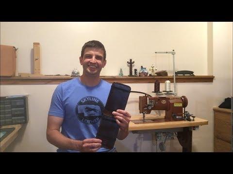Making A Leather Golf Scorecard Pad
