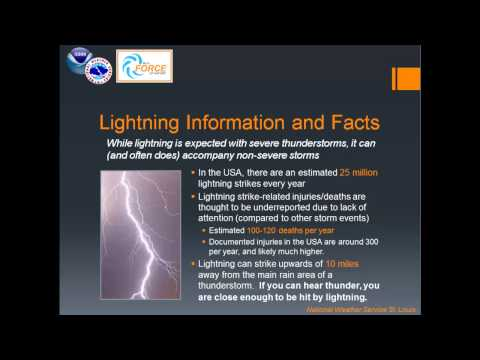 March 6, 2014 Severe Thunderstorm Safety Day