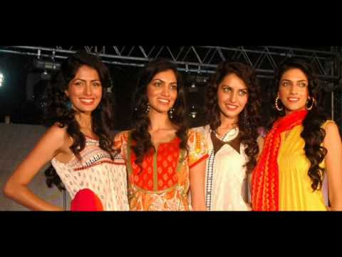 Contestants of femina miss india fianalist participated in fashion FBB summer spring collection