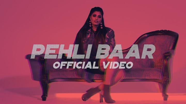 rupika  pehli baar  official video  music by lyan x sp