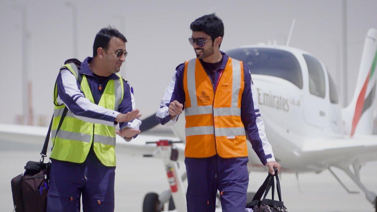 First Solo Flight | Emirates Flight Training Academy