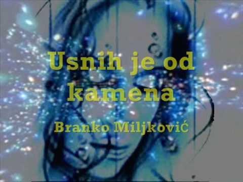 USNIH JE OD KAMENA - Branko MILJKOVIĆ (poezija)