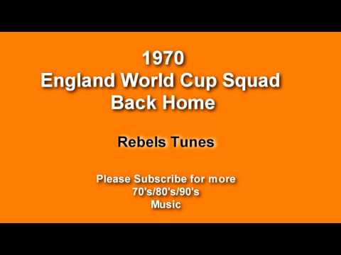 England World Cup Squad Back Home