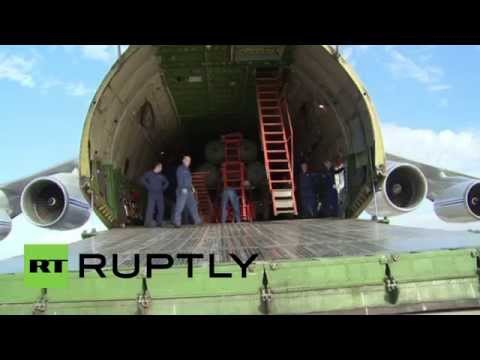 Syria: See the moment the S-400s arrived in Latakia