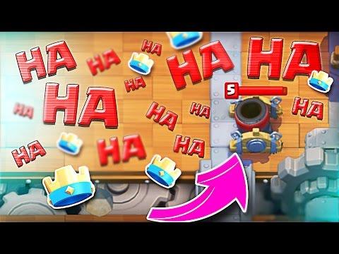 Mortar HA HA HA :: Clash Royale :: Level 7 Gameplay!