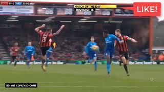 Bournemouth vs Arsenal 2 1   Highlights & Goals Resumen Goles   14 01 2018 HD