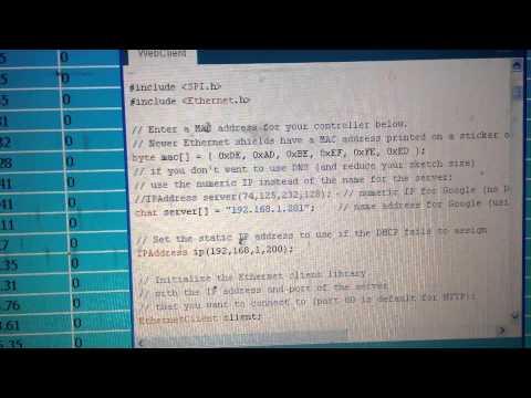 การใช้ Arduino ESP8266 NodeMCU MySQL วิธีติดต่อ PHP และ MySQL ด้วย