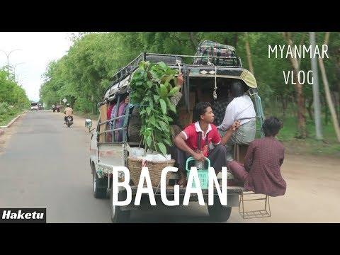 Đi chợ Bagan và thăm chùa Shwezigon   Myanmar VLOG   Tập 3