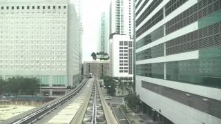 The Downtown Miami Metromover Loop Rail An Extensive Tour