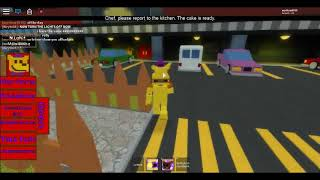 Roblox Fredbear and Friends 5 roleplay all badges but no lefty badge