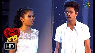 Abhay Surya and Jeevana Performance | Dhee Jodi | 17th October 2018 | ETV Telugu