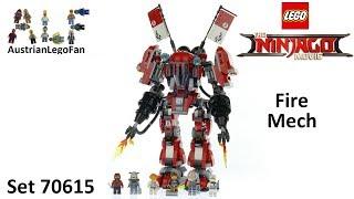 Lego Ninjago Movie 70615 Fire Mech - Lego Speed Build Review