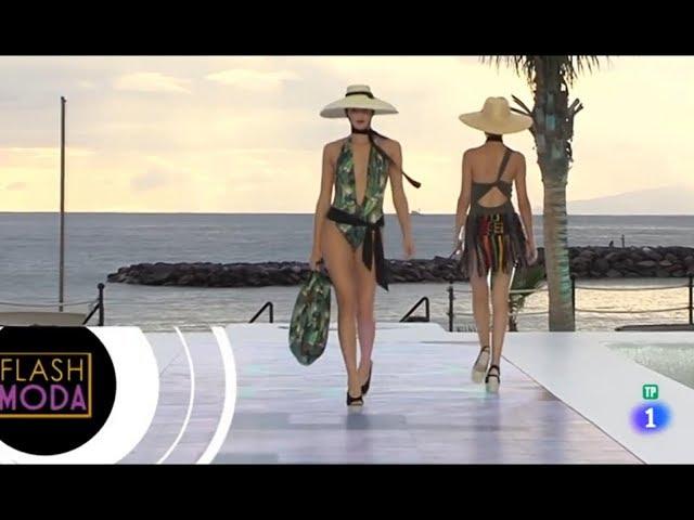 Tenerife Fashion Beach Costa Adeje 2018 reportaje  en el programa Flash Moda de TVE