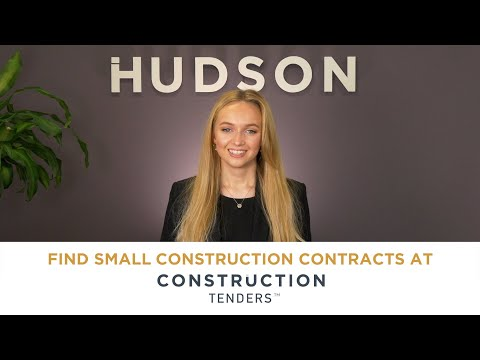 Find Small Construction Contracts at Construction Tenders