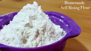 Self Rising Flour Recipe - Homemade Self Raising Cake flour - Perfect for cakes & pancakes