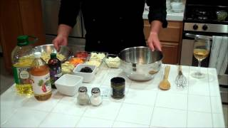 Chef Stroh's Mediterranean Lemon Basil Pasta Salad.wmv