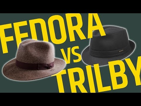 This Over That: Brimmed Hats // Fedora vs Trilby – What's The Difference? • Effortless Gent