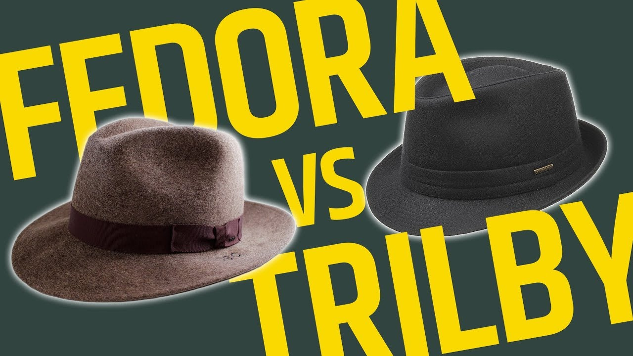 f4a2e24275d32 This Over That  Brimmed Hats    Fedora vs Trilby - What s The Difference   Which One Should You Wear