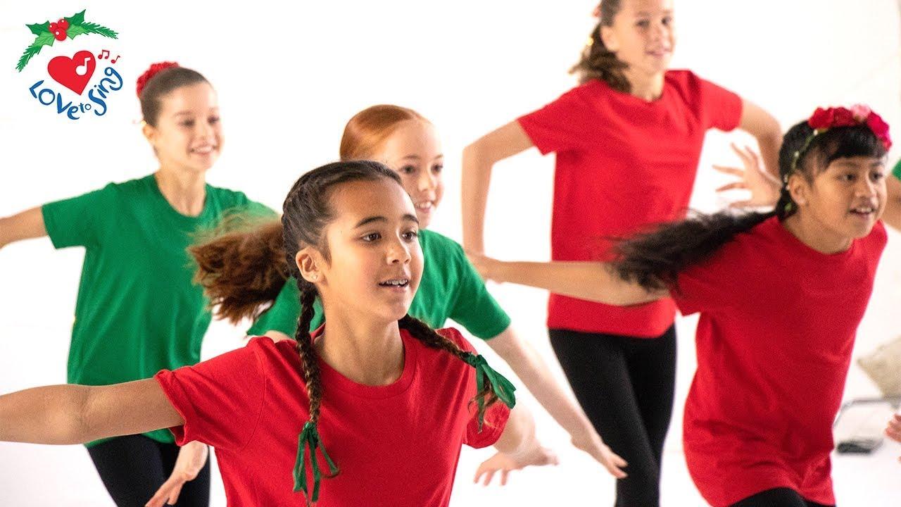 Jingle Bells Dance   Christmas Dance Song Choreography   Christmas Dance Crew - YouTube