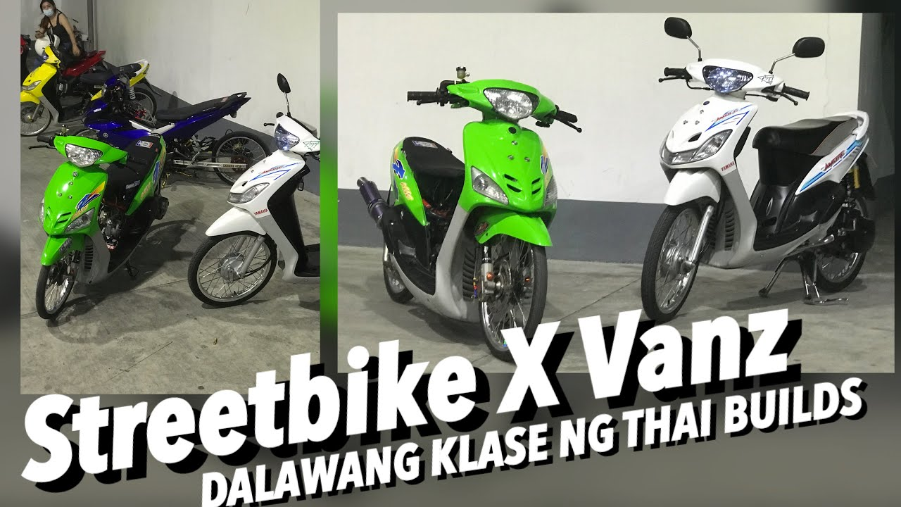 Download Mio 1 Streetbike X Vanz! | Dalawang klaseng ng Thai build for Mio 1