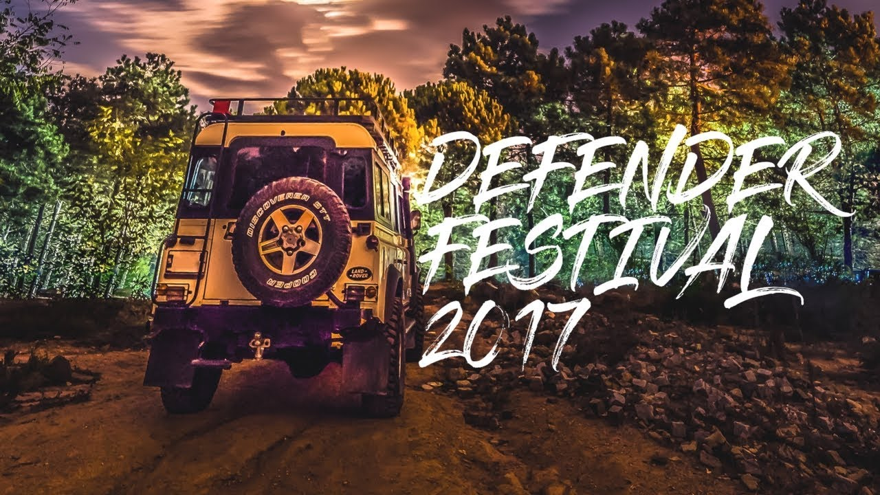 Land Rover Defender Festival 2017