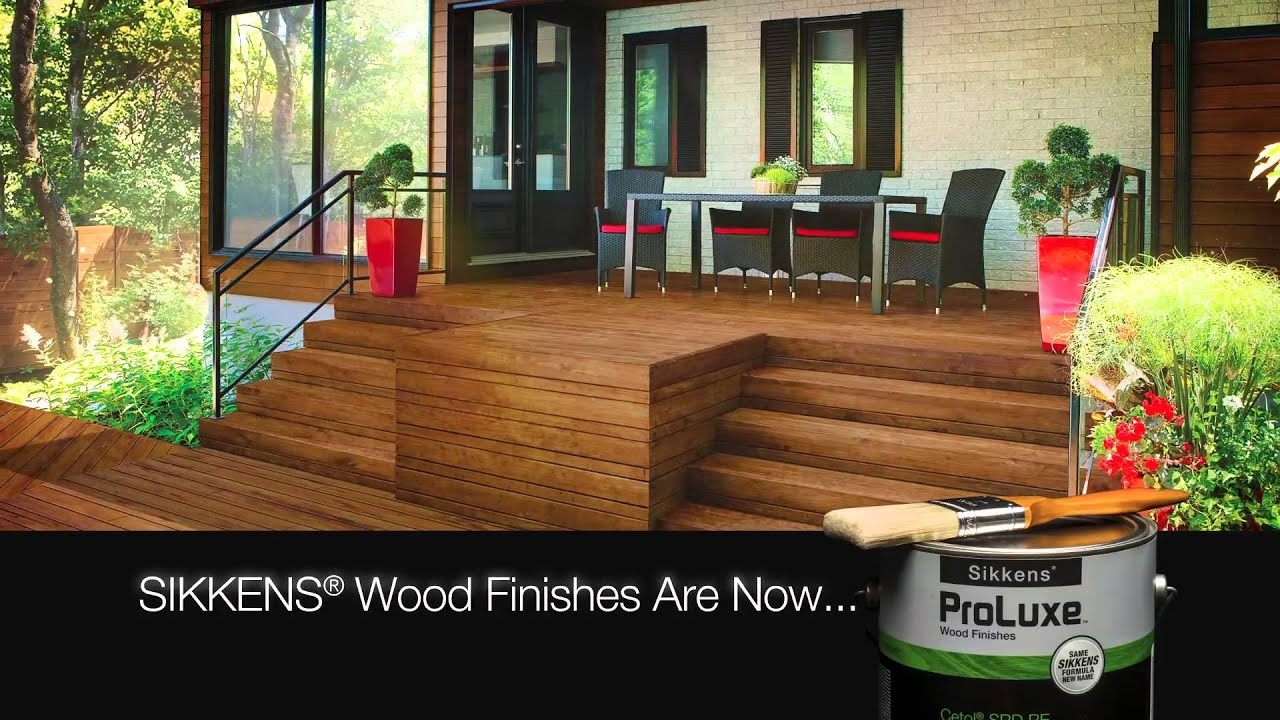 Re Discover Sikkens Proluxe Wood Stains