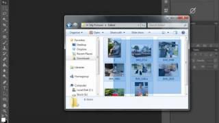 Пакетная обработка фотографий в Фотошоп (Photoshop Actions)(Когда вам нужно изменить одновременно несколько фотографий, воспользуйтесь пакетной обработкой фотографи..., 2012-08-24T07:50:42.000Z)