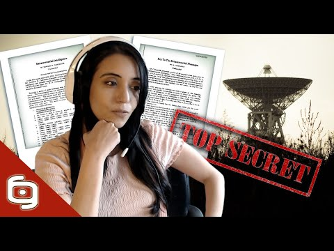 Documento DESCLASIFICADO sobre mensajes EXTRATERRESTR3S