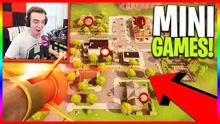 Hide & Seek (Guided Missile Edition) w/ Preston, Kenny, & Barney! (Fortnite Playground Mini Games)