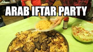 ARAB IFTAR BARTY(PARTY)!! RAMADAN 2016