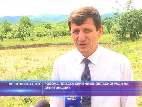 Робоча поїздка керівників обласної ради на Делятинщину