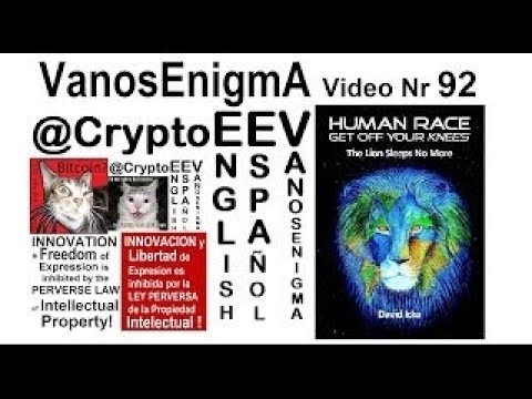 VanosEnigmA 092 Philosophy DavidIcke MindControl Liberty Conspiracy Truth NWO Bitcoin EEV