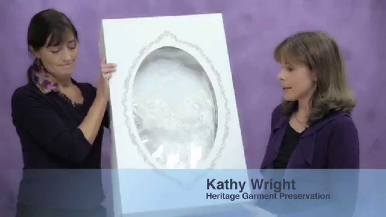Museum Method wedding dress preservation is best protection - YouTube