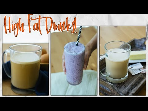 3 High Fat Keto Drinks That Aren't Bulletproof Coffee