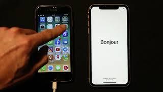 как перенести все файлы со старого айфона (iphone 7) на новый (iphone 11)
