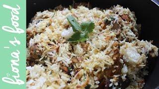 Chicken Biryani Recipe | Fiona's Food In India