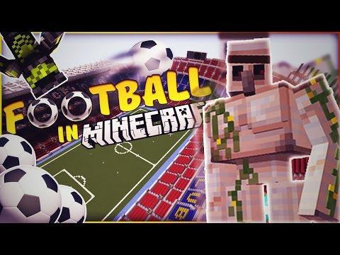 Football in Minecraft + Lupta cu monstrii