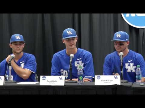 UK Baseball post win against NC State to advance to the Super Regional