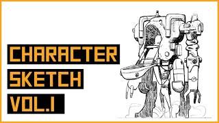 Character Sketch Vol.1