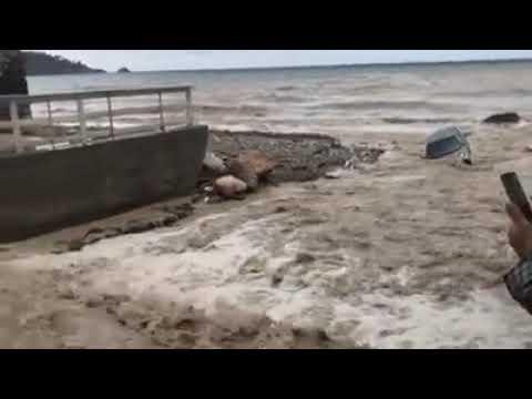 Meteo cronaca diretta video, nubifragio ed esondazione a Taormina