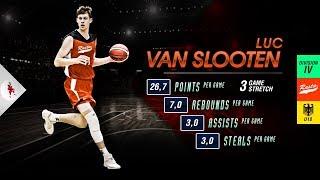 Luc Van Slooten - Regionalliga (🇩🇪 Div IV) - 3 Game Stretch