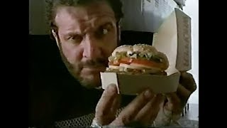 1985 - Burger King - New Whopper (with Lyle Alzado) Commercial