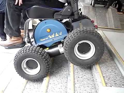 4wd Unlimited Stair Climbing Wheelchair Doovi