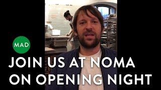 Join Us at Noma on Opening Night   René Redzepi