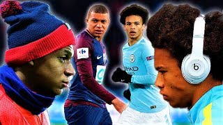 Kylian mbappè vs leroy sanè 2018 - who is the best young star?
