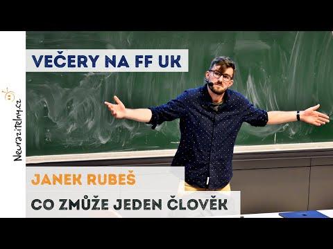 Janek Rubeš Honest Guide - Co zmůže jeden člověk | Neurazitelny.cz | Večery na FF UK