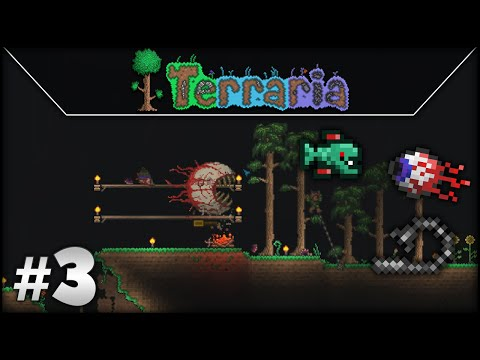 Terraria Guided Walkthrough: Episode 3 - Prep For Eye Of Cthulhu Fight!