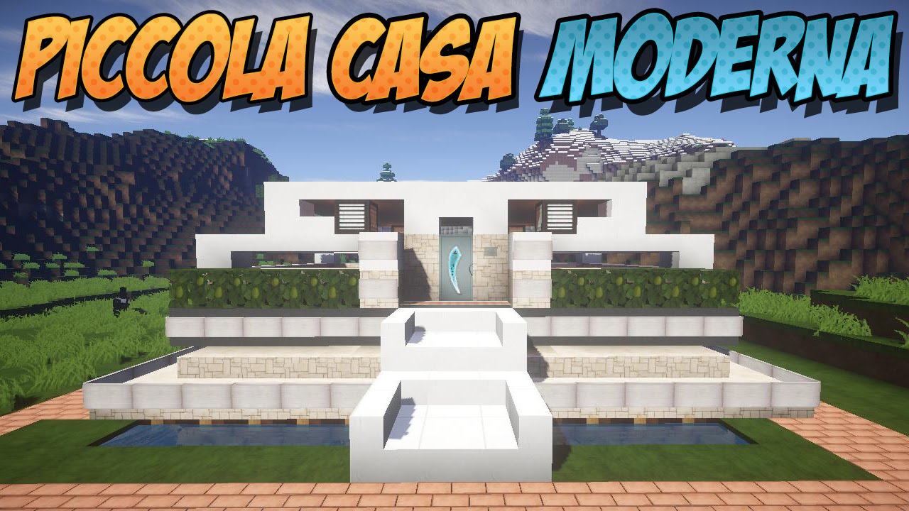Come costruire una piccola casa moderna minecraft ita for Casa moderna 2 minecraft