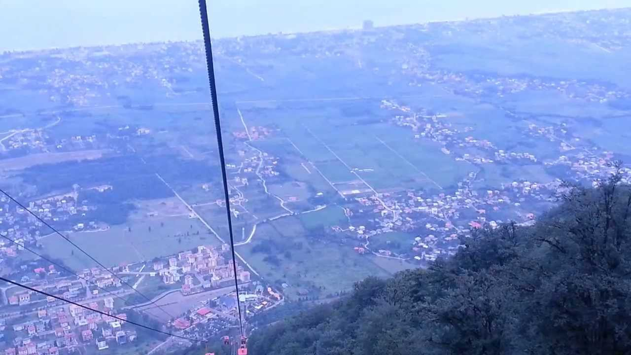 chalus the north of iran from the telecabin